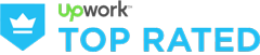 Upwork – Top Rated Agency